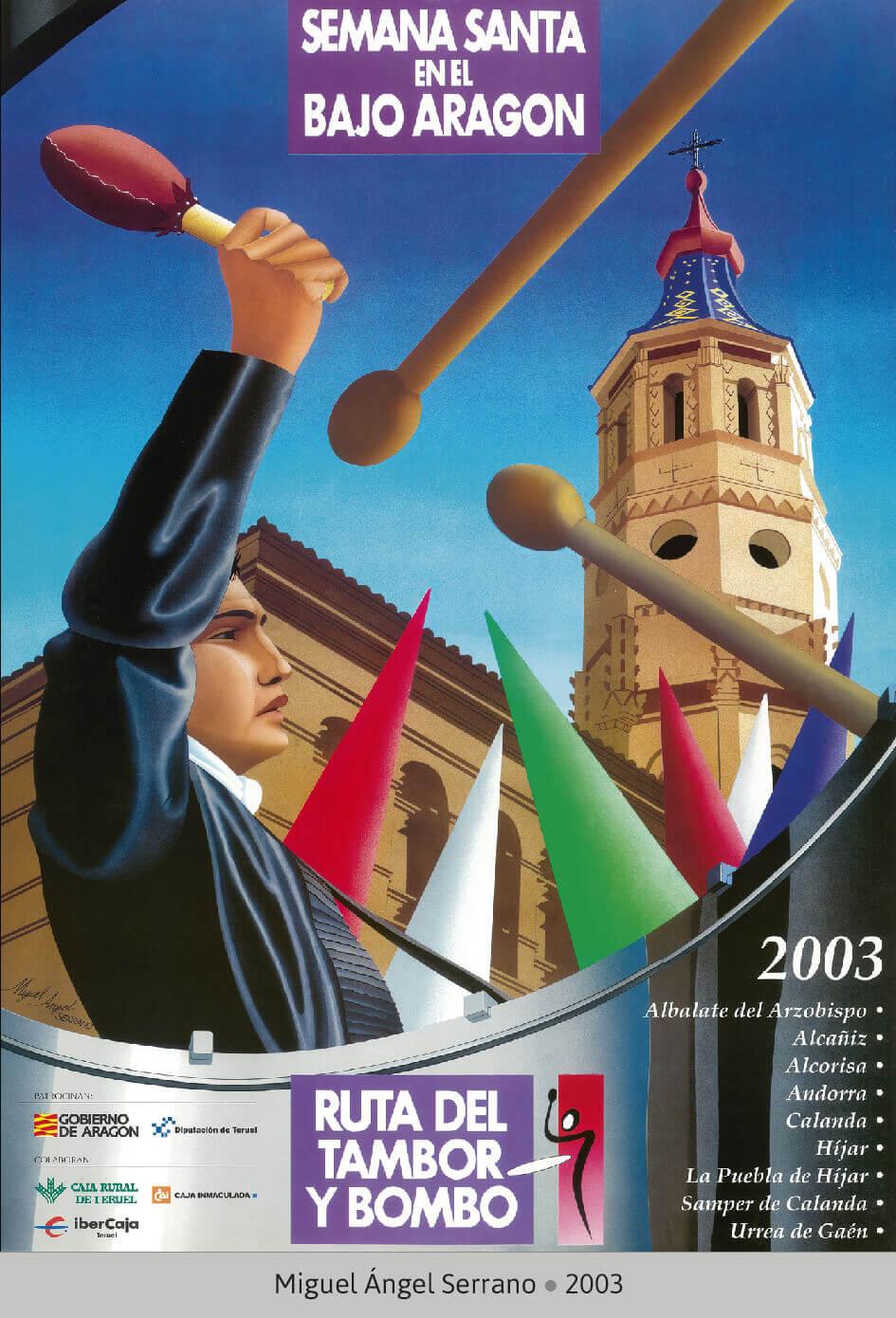 Cartel Ganador Ruta del Tambor y Bombo 2003