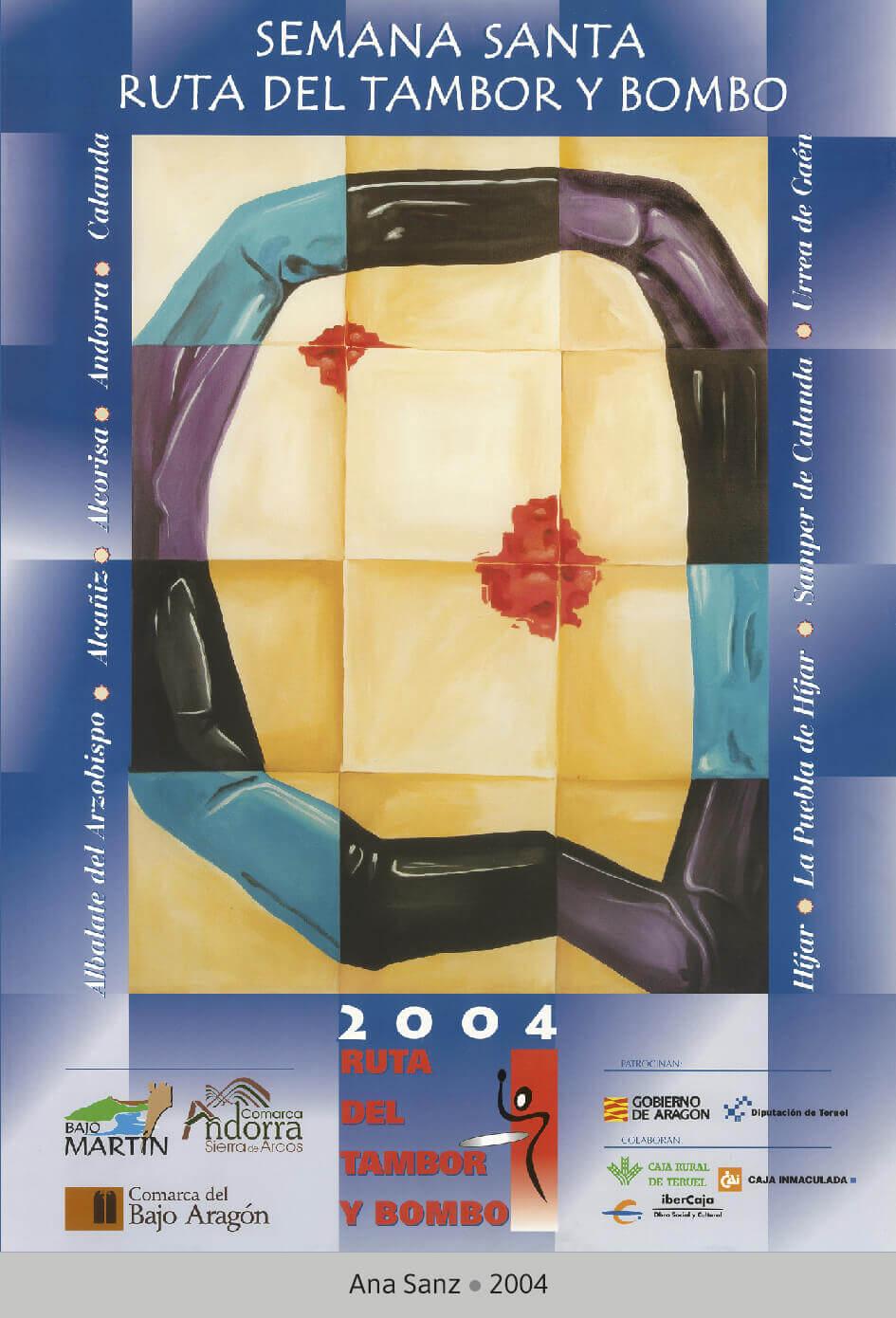 Cartel Ganador Ruta del Tambor y Bombo 2004