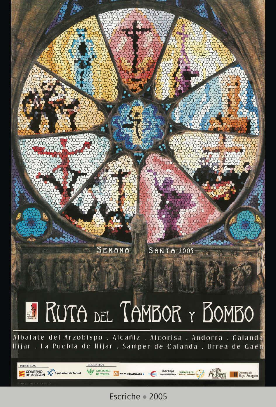 Cartel Ganador Ruta del Tambor y Bombo. Semana Santa 2005