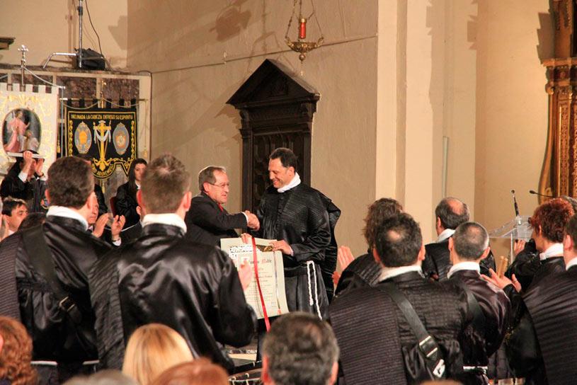 Entrega del Tambor Noble en Albalate del Arzobispo