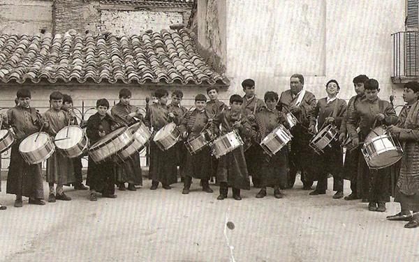 Escuela de tambores de la Cofradía de Jesús Nazareno de Calanda